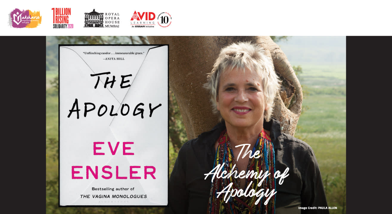 The Alchemy of Apology: An Intimate Conversation with Author of 'The Vagina Monologues', Eve Ensler