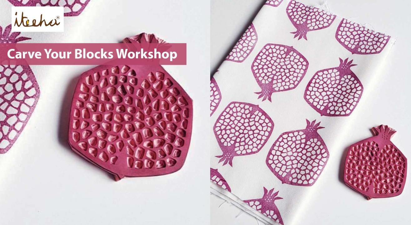 Carve Your Blocks (Lino Printing)