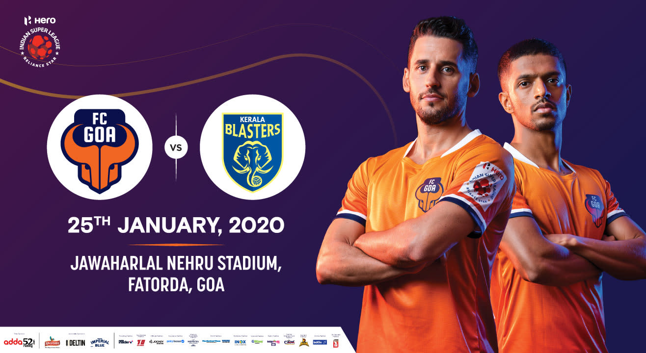 Hero Indian Super League 2019-20: FC Goa vs Kerala Blasters FC