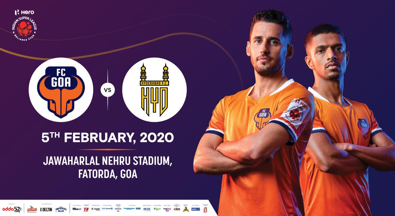 Hero Indian Super League 2019-20: FC Goa vs Hyderabad FC