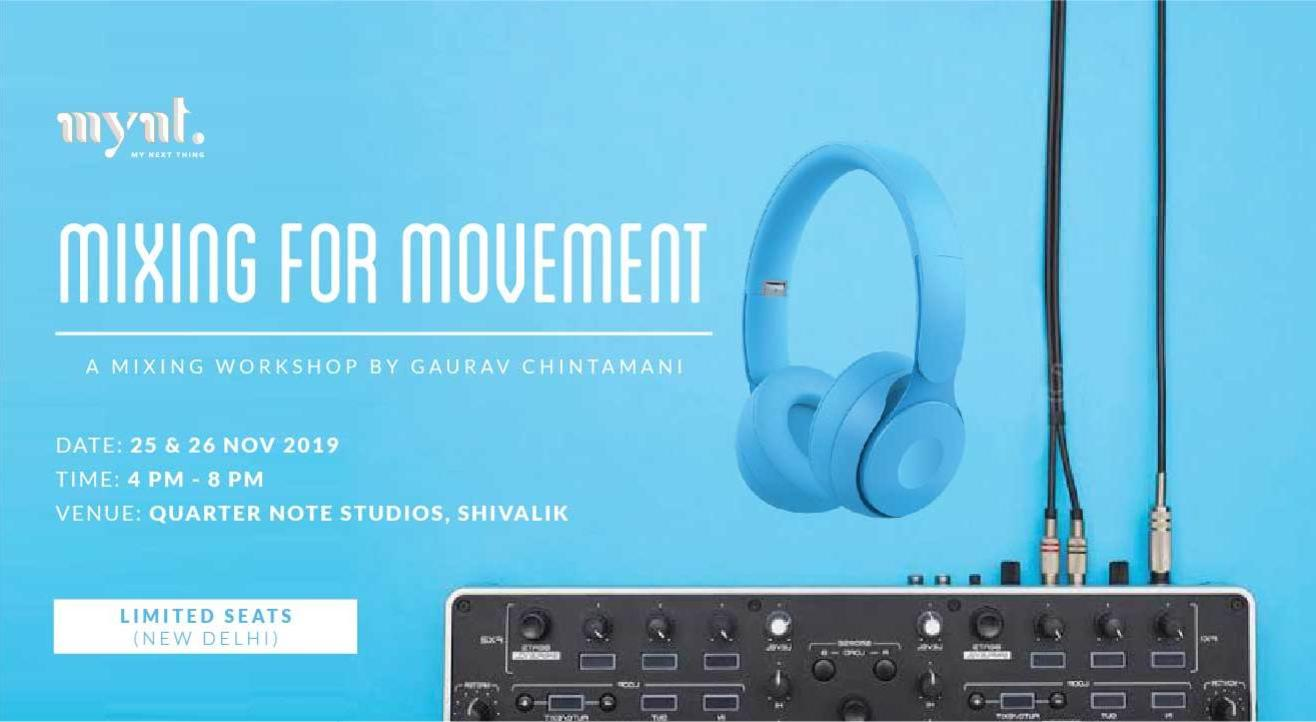 Mixing for Movement: Audio Mixing Workshop