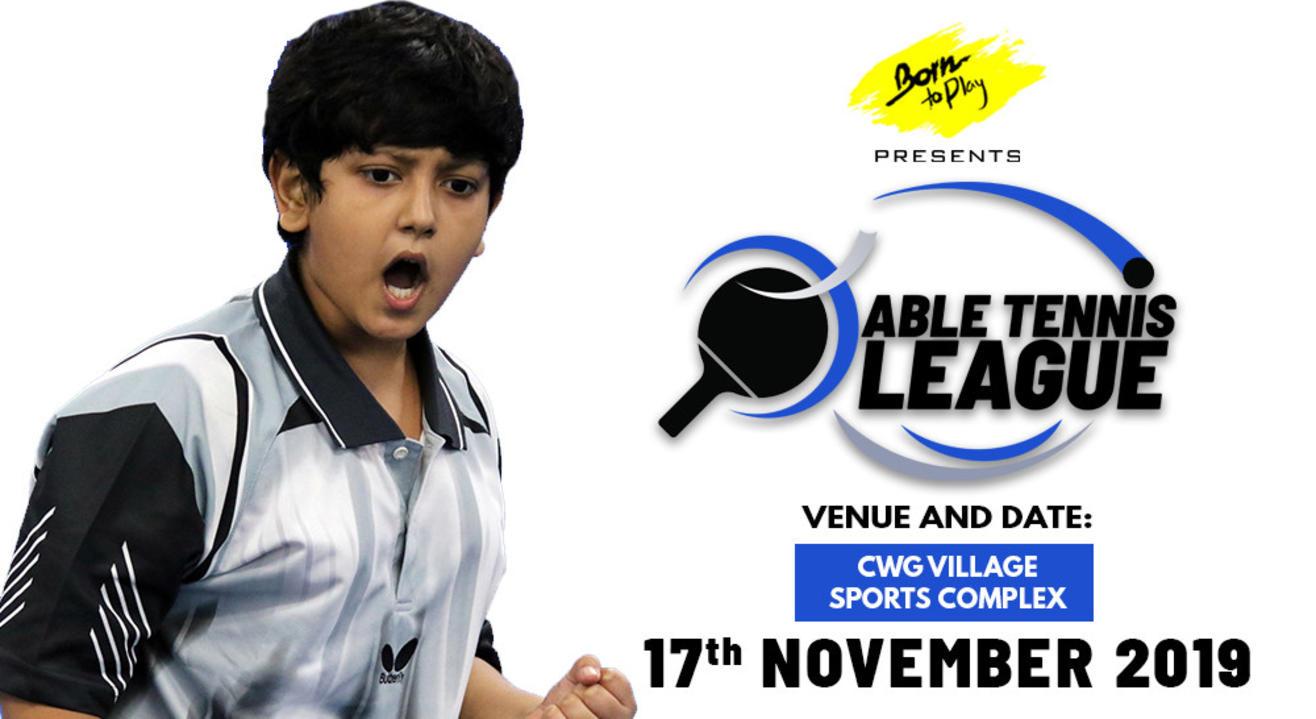 Born To Play Table Tennis League: November'2019 Edition