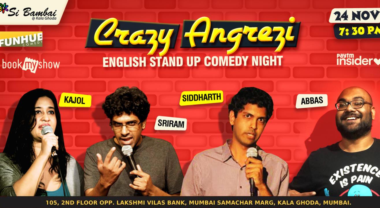 Crazy Angrezi English Comedy Night