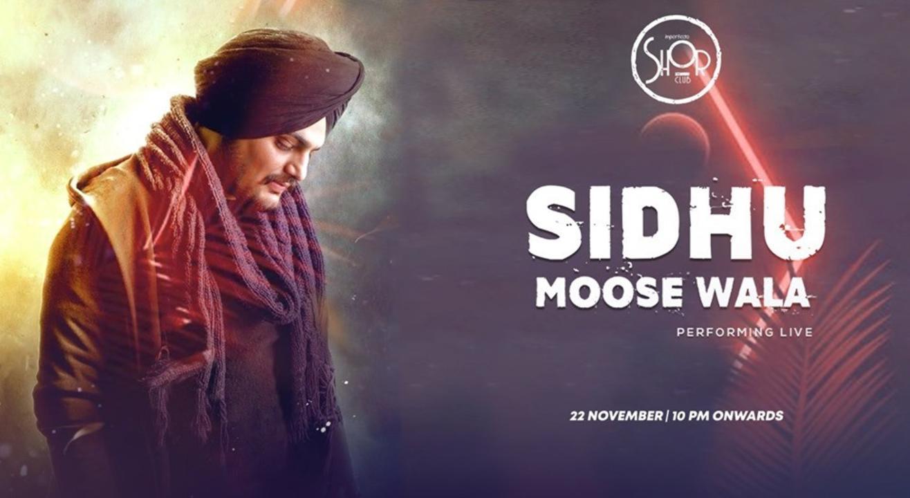 Sidhu Moose Wala Performing Live