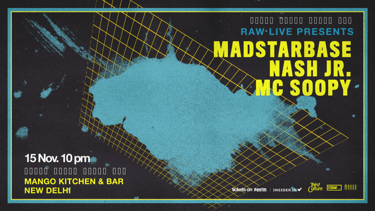 Raw Live Presents Madstarbase, Nash JR & MC Soopy