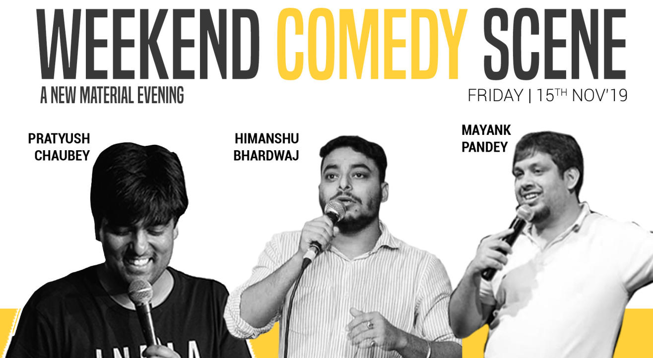Weekend Comedy Scene - A new material evening