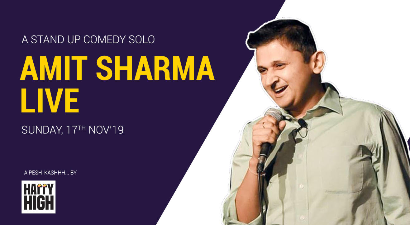 Amit Sharma live - A stand up comedy solo