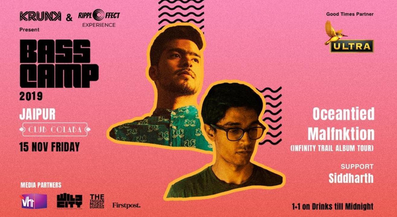 BASS CAMP Festival | Jaipur ft. Oceantied & Malfnktion