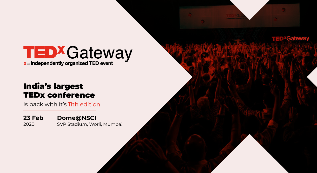 Ideas worth experiencing - TEDxGateway is back with some epic talks!