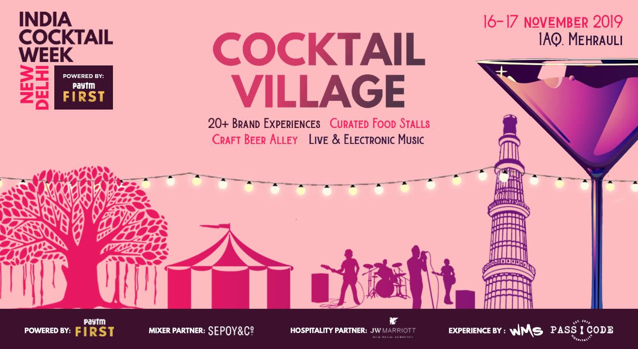 India Cocktail Week- Cocktail Village