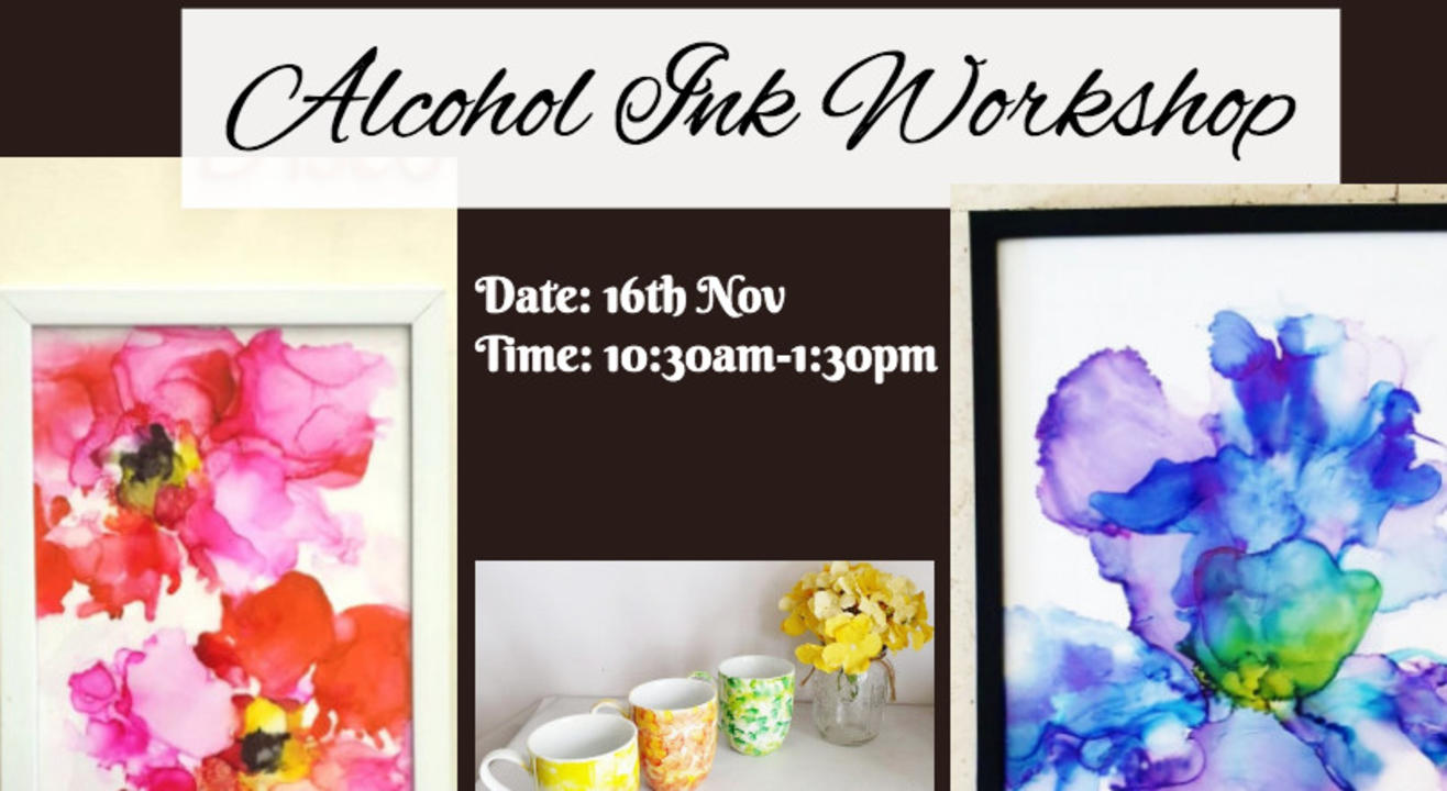 Alcohol Ink Workshop