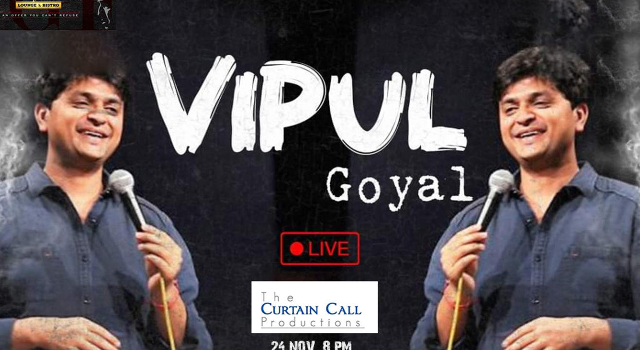 Vipul Goyal-Humorously Yours Live in Gurgaon