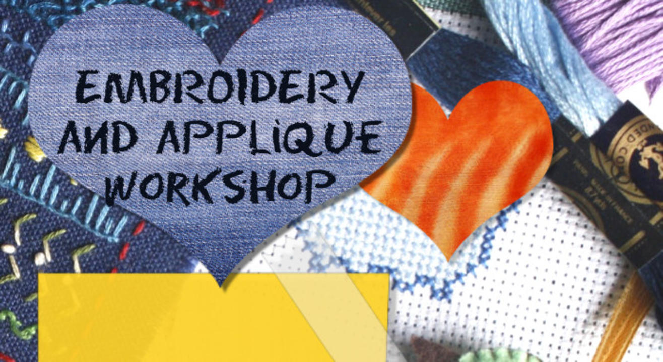 Embroidery and Applique Workshop