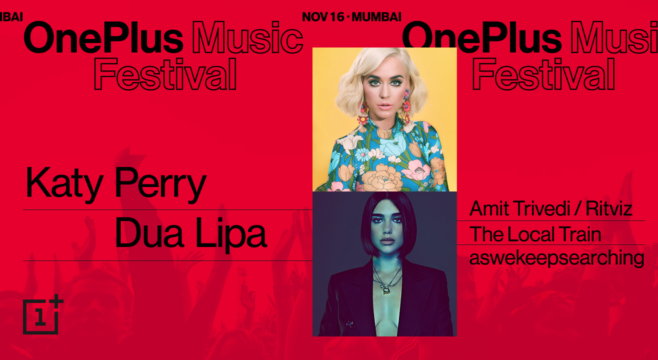 This November, OnePlus Music Festival Will Roar with Katy Perry!
