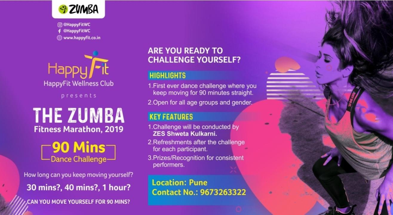 THE ZUMBA FITNESS MARATHON - 2019