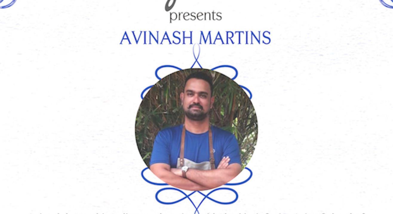 Avinash Martins of Cavatina Cuchina Goa cooks in Mumbai