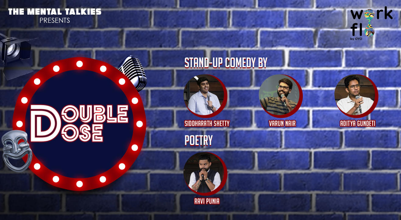 Double Dose-Stand Up Comedy and Poetry