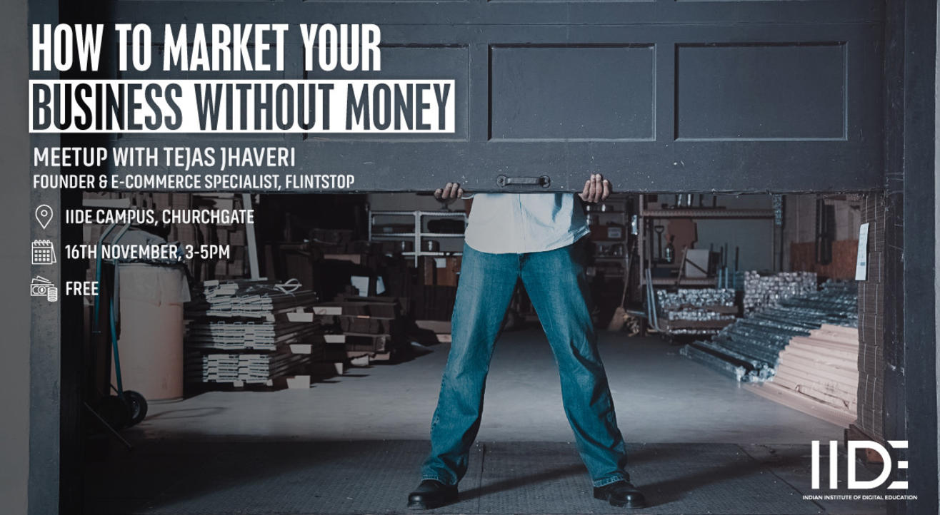 How to market your business without money