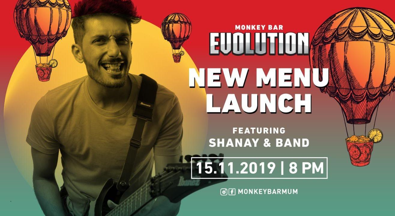 Monkey Bar Evolution Ft. Shanay Shah & Band