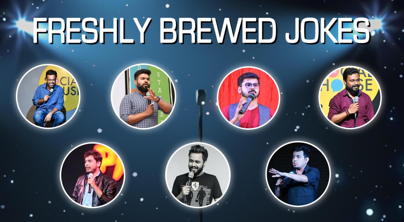 Comedy Munch : Freshely Brewed Jokes