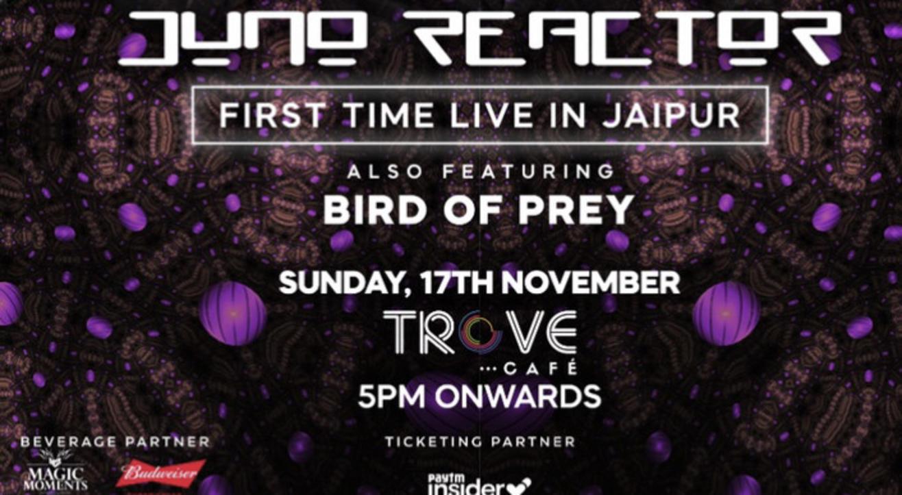 JUNO REACTOR India tour Live in Jaipur