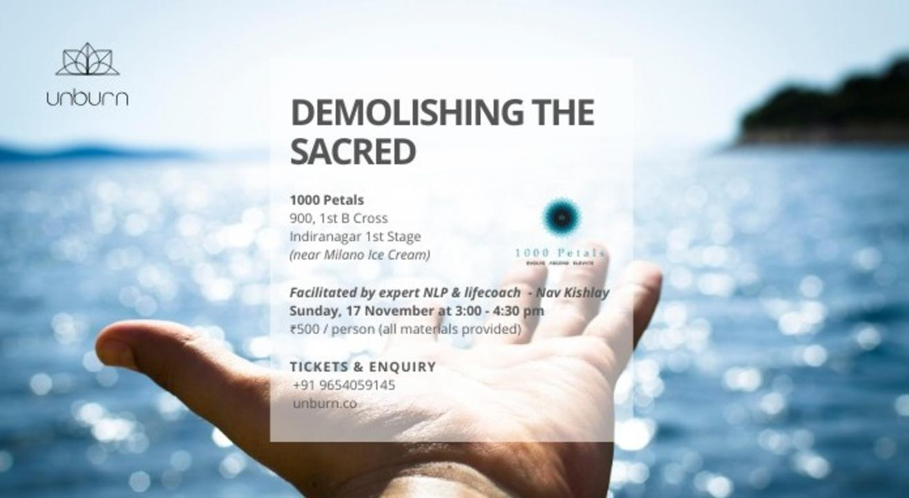 Demolishing The Sacred