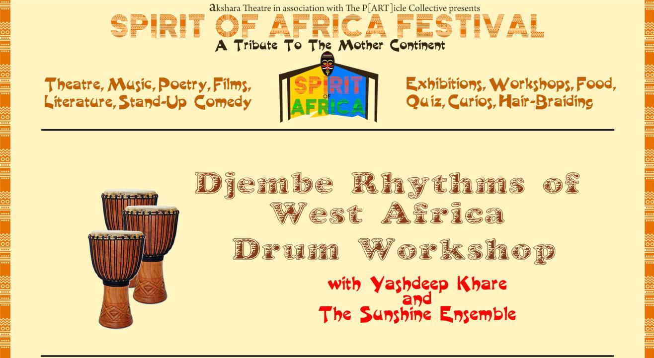 DJEMBE RHYTHMS OF WEST AFRICA WORKSHOP