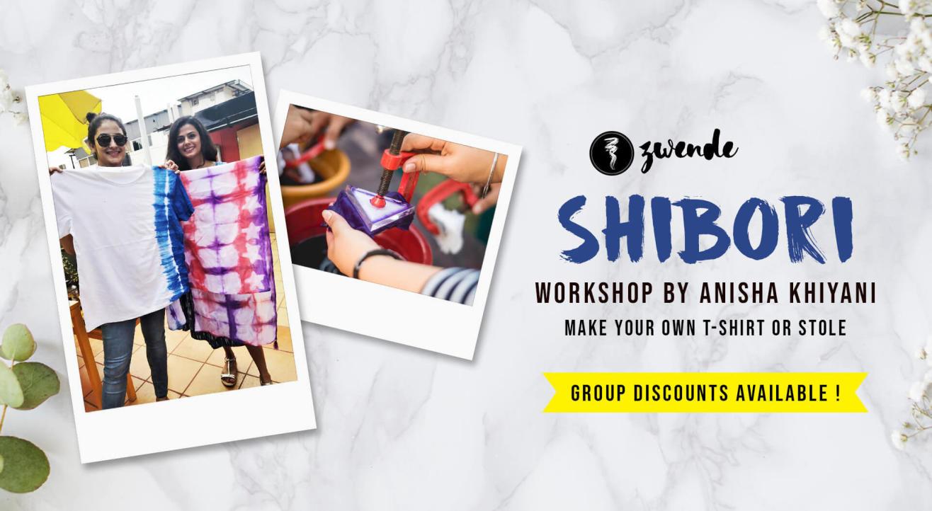 Shibori Workshop by Anisha Khiyani