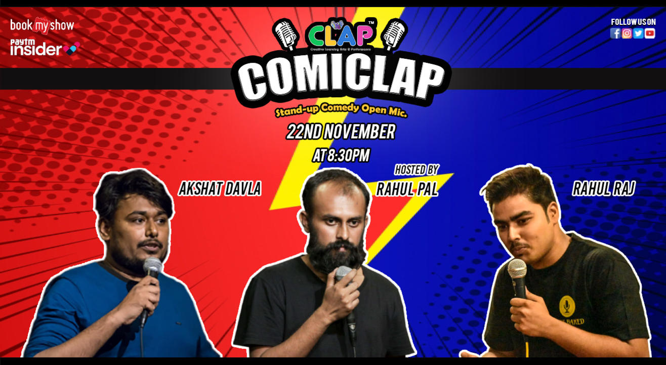 ComiCLAP 15 A Stand-up Comedy Open Mic