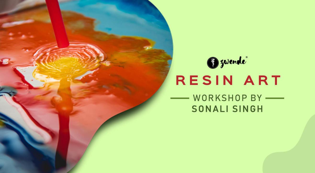 Resin Art Workshop by Sonali Singh Rao