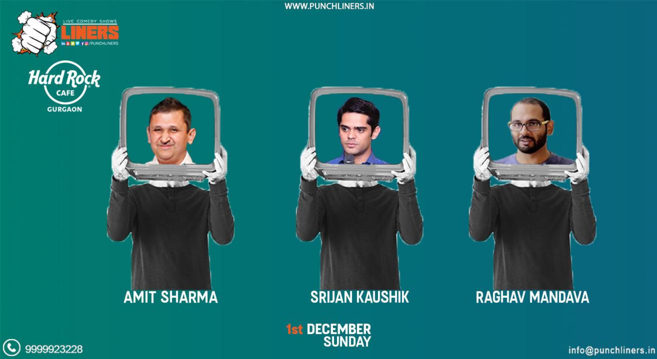 Punchliners Comedy Show ft Srijan, Raghav & Amit