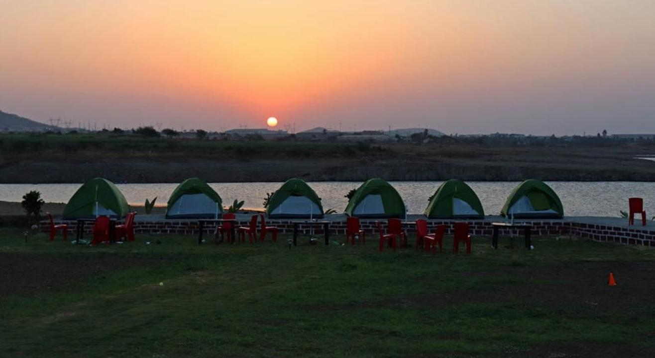 Lakeside Camping Near Lonavala