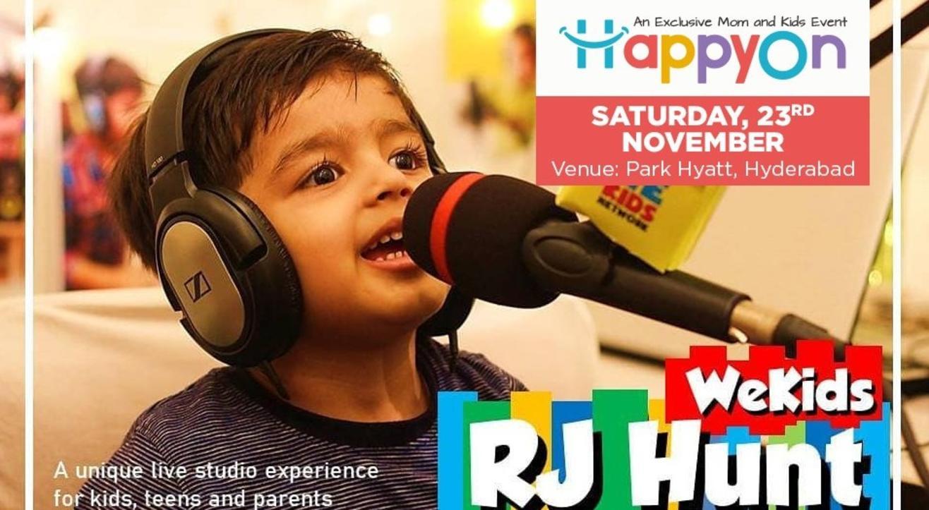 Radio Jockey Workshop @HappyOn Exhibition