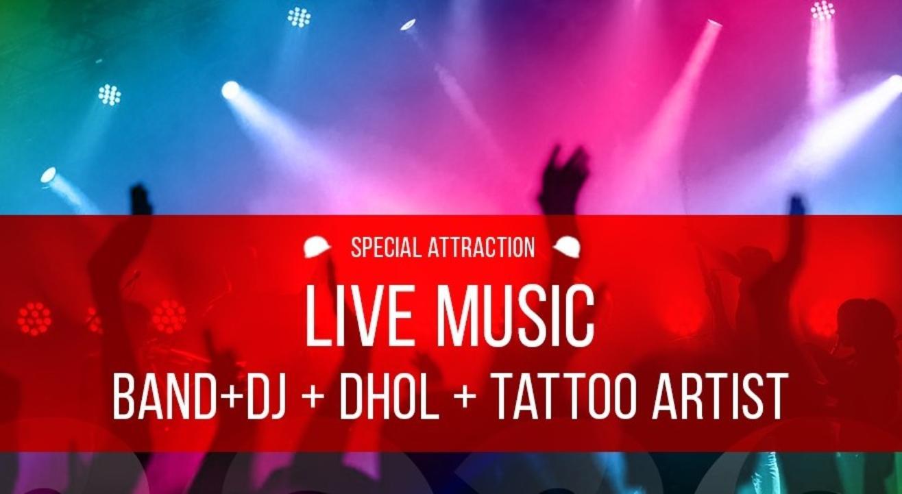 Dj Rishi performing live at 38 Barracks   New Year's 2020