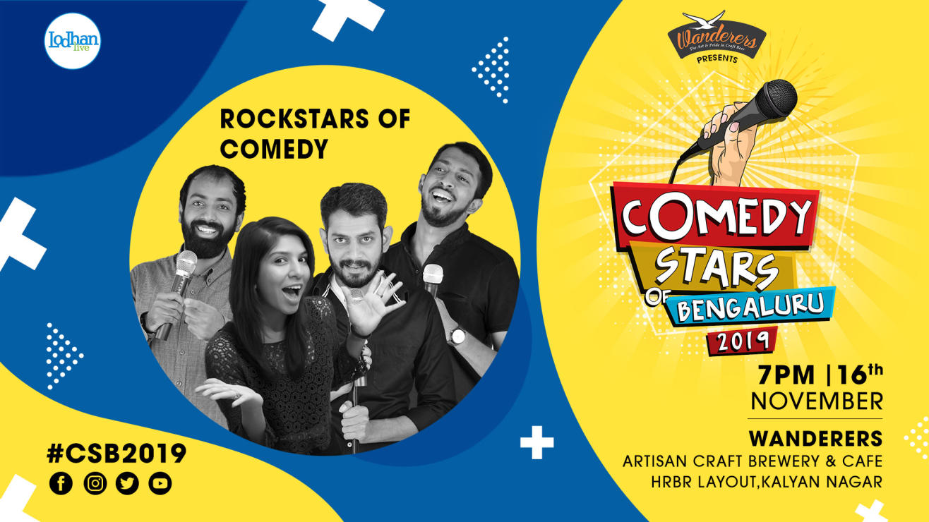 Rock Stars of Comedy at CSB 2019