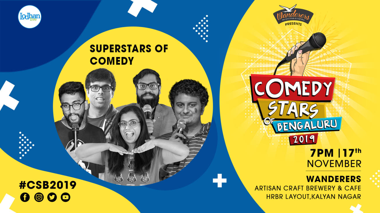 Super Stars of Comedy at CSB 2019