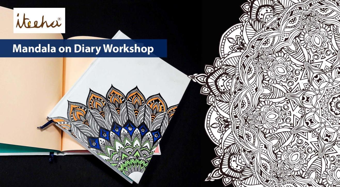 Mandala on Diary Workshop