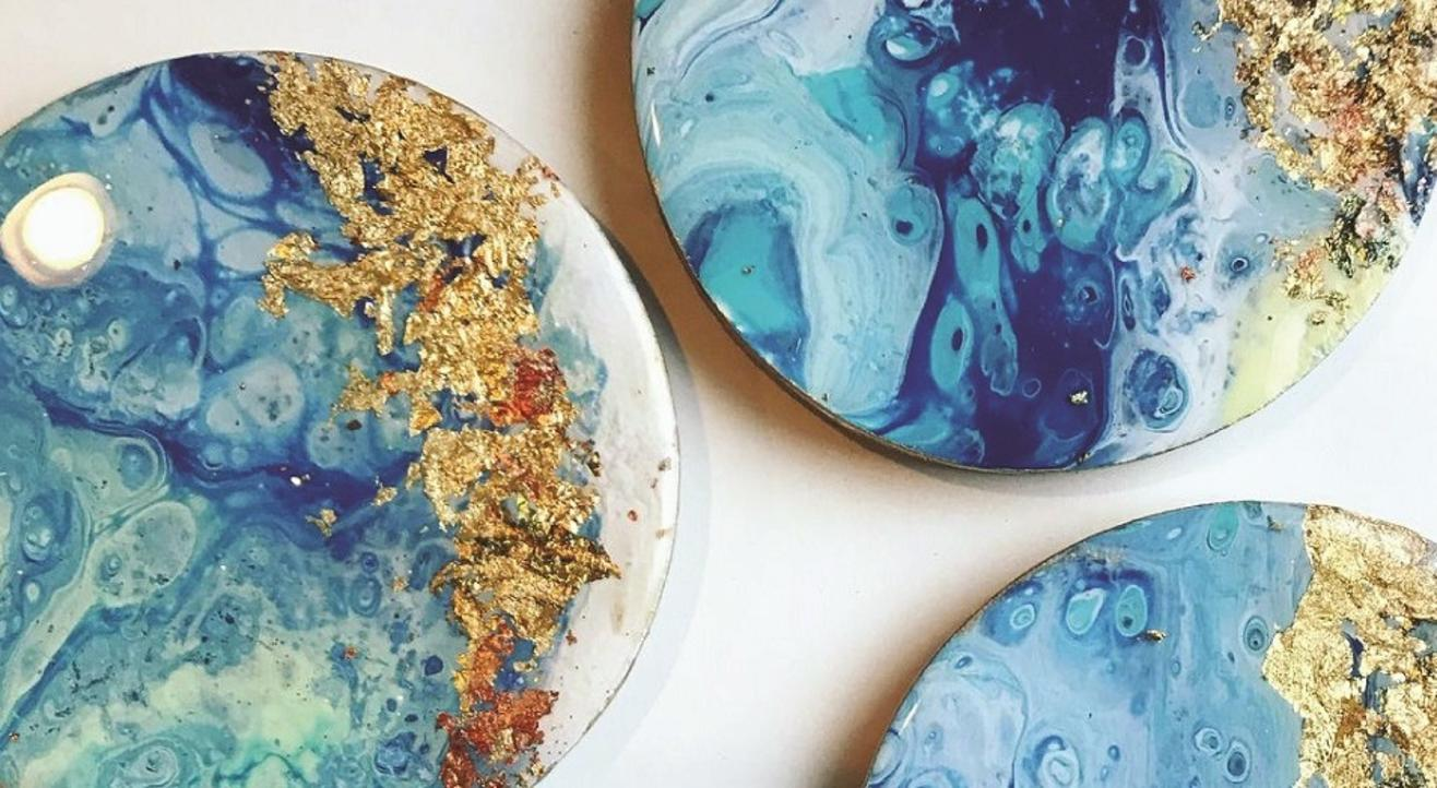 The Fluid Art: Resin Workshop | The Oasis Festival