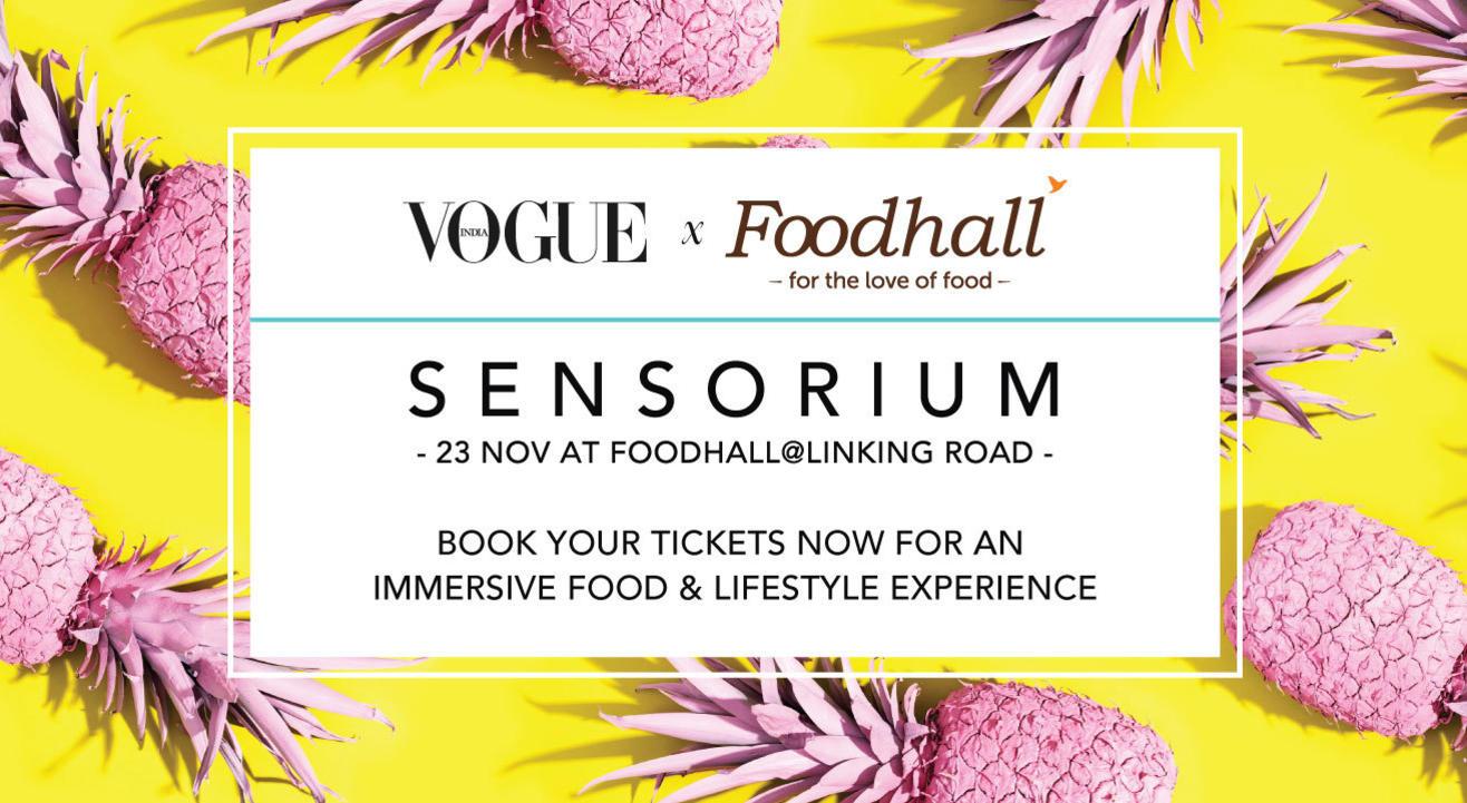 Foodhall & Vogue India: Sensorium