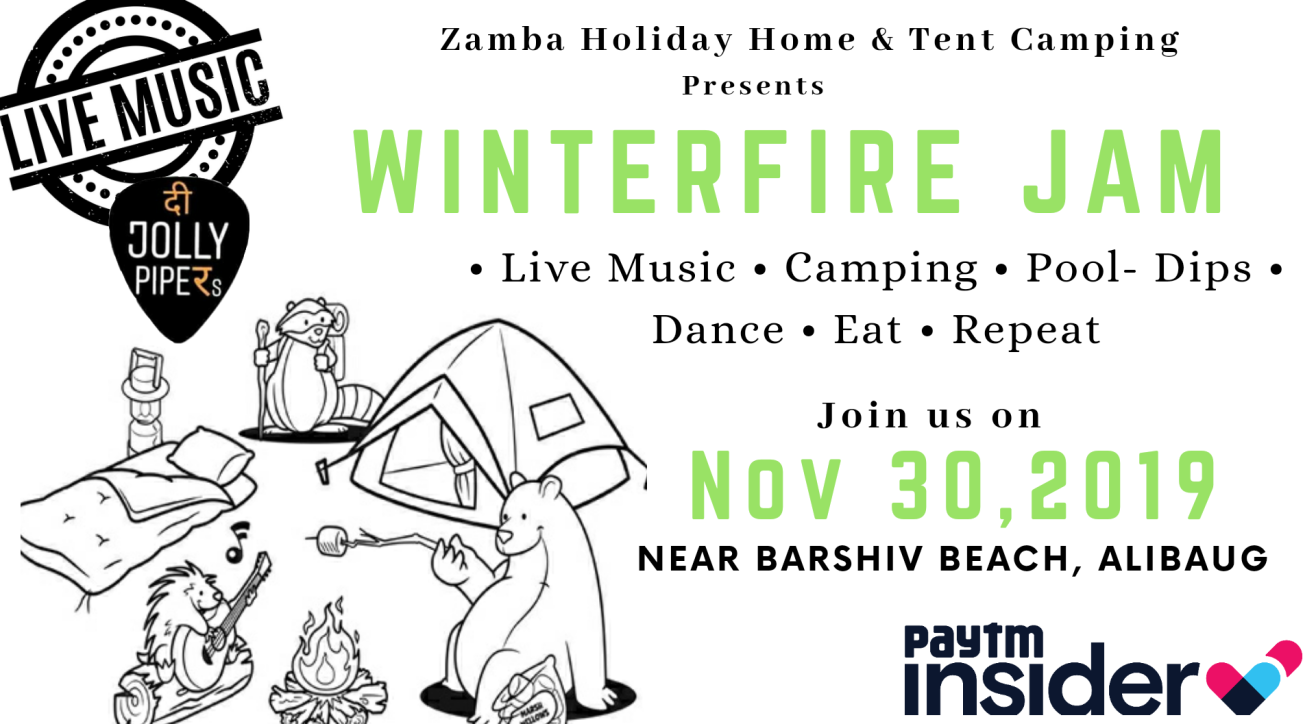 WinterFire Jam - Musical Night Camping