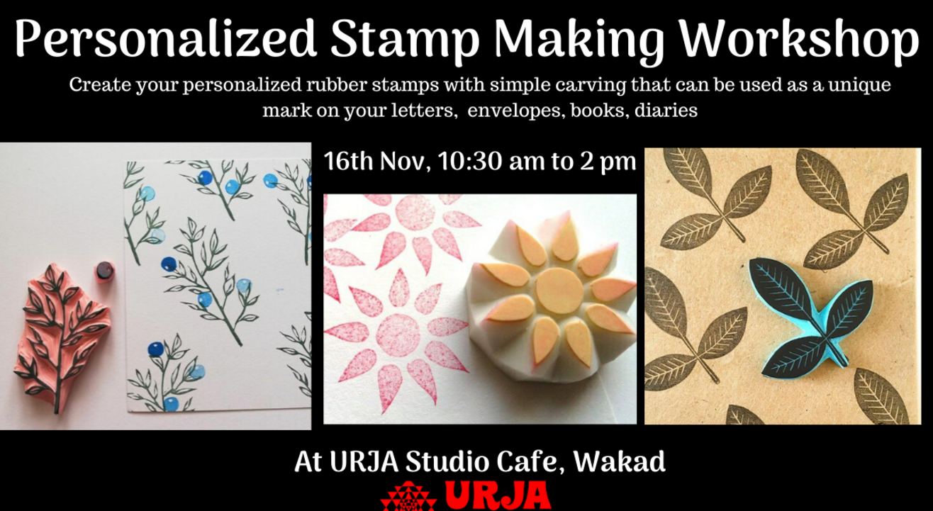Personalized Stamp Making Workshop
