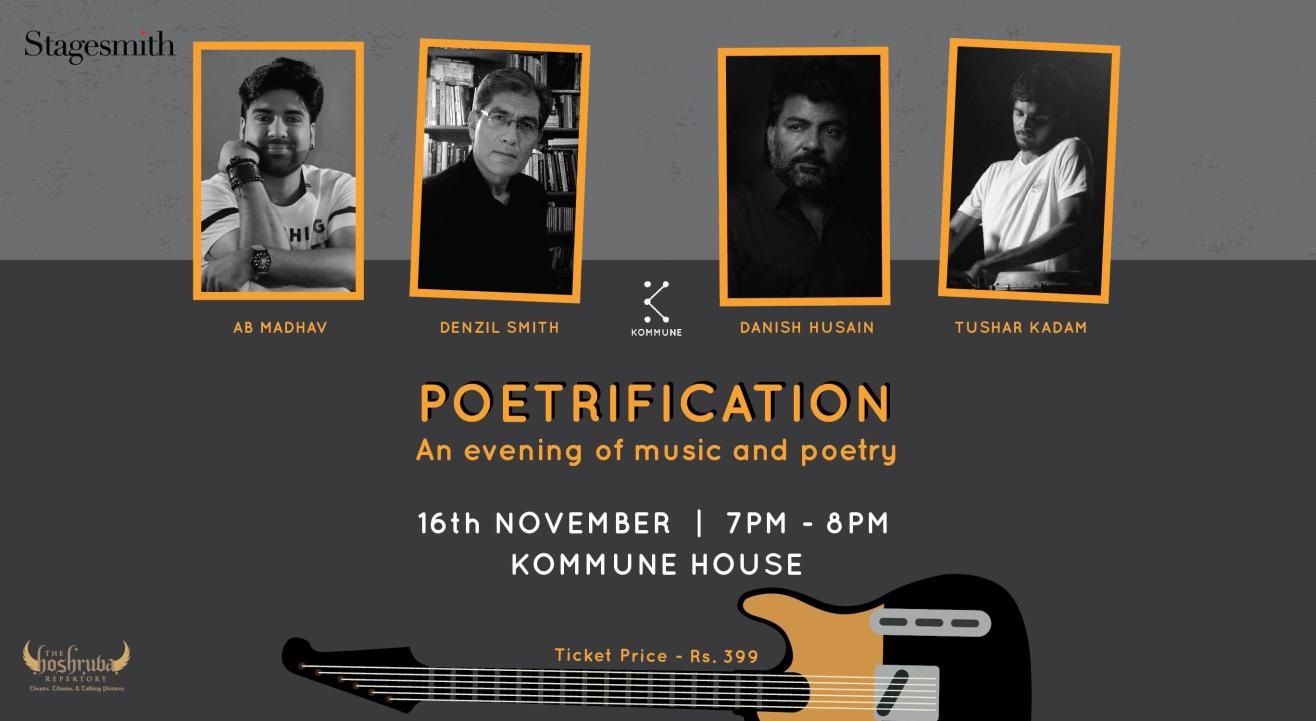 Poetrification: An Evening Of Music & Poetry