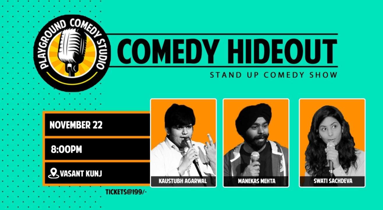 Comedy Hideout ft. Manekas, Kaustubh & Swati