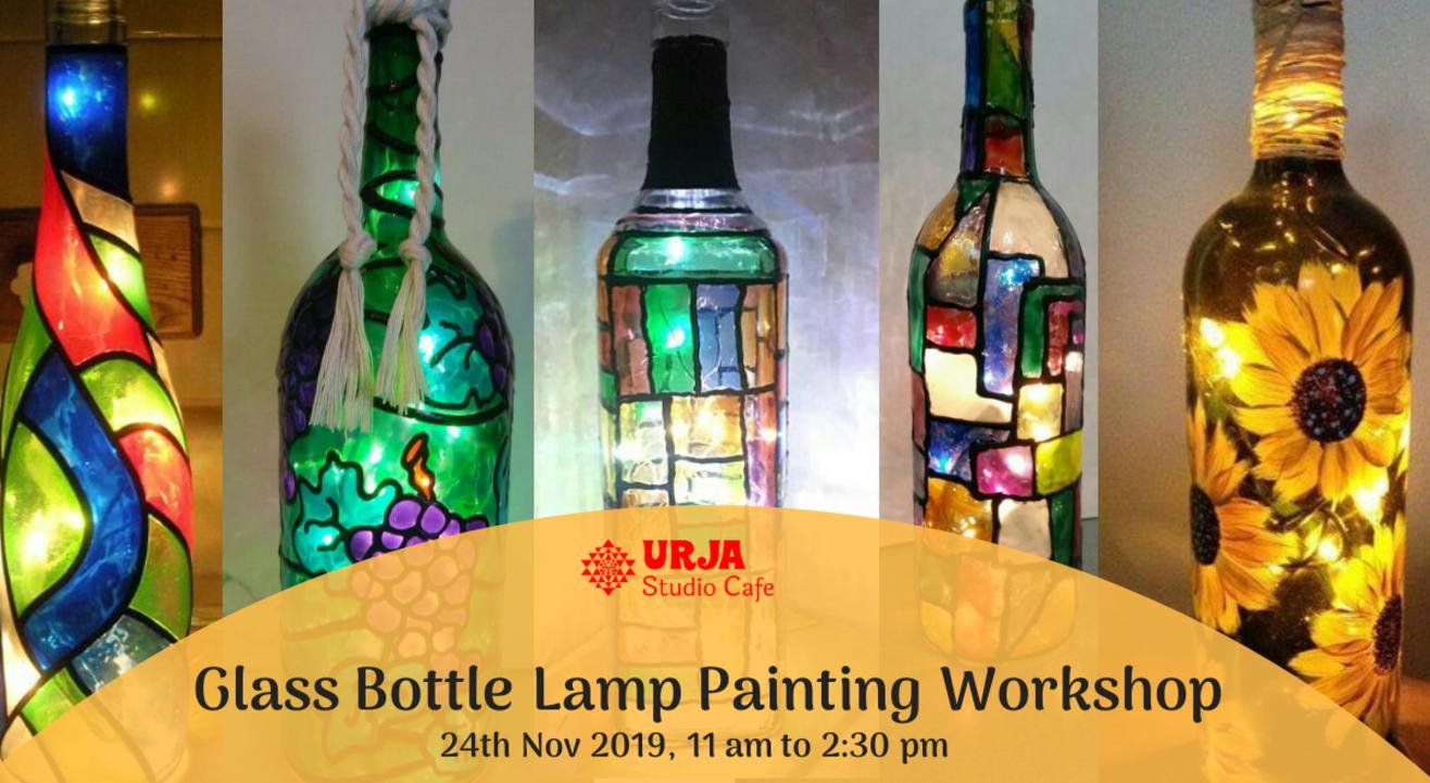 Glass Bottle Lamp Painting Workshop
