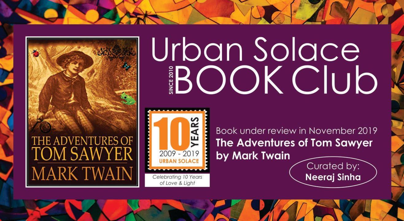 The Urban Solace Book Lovers' Club - November 2019 Meet