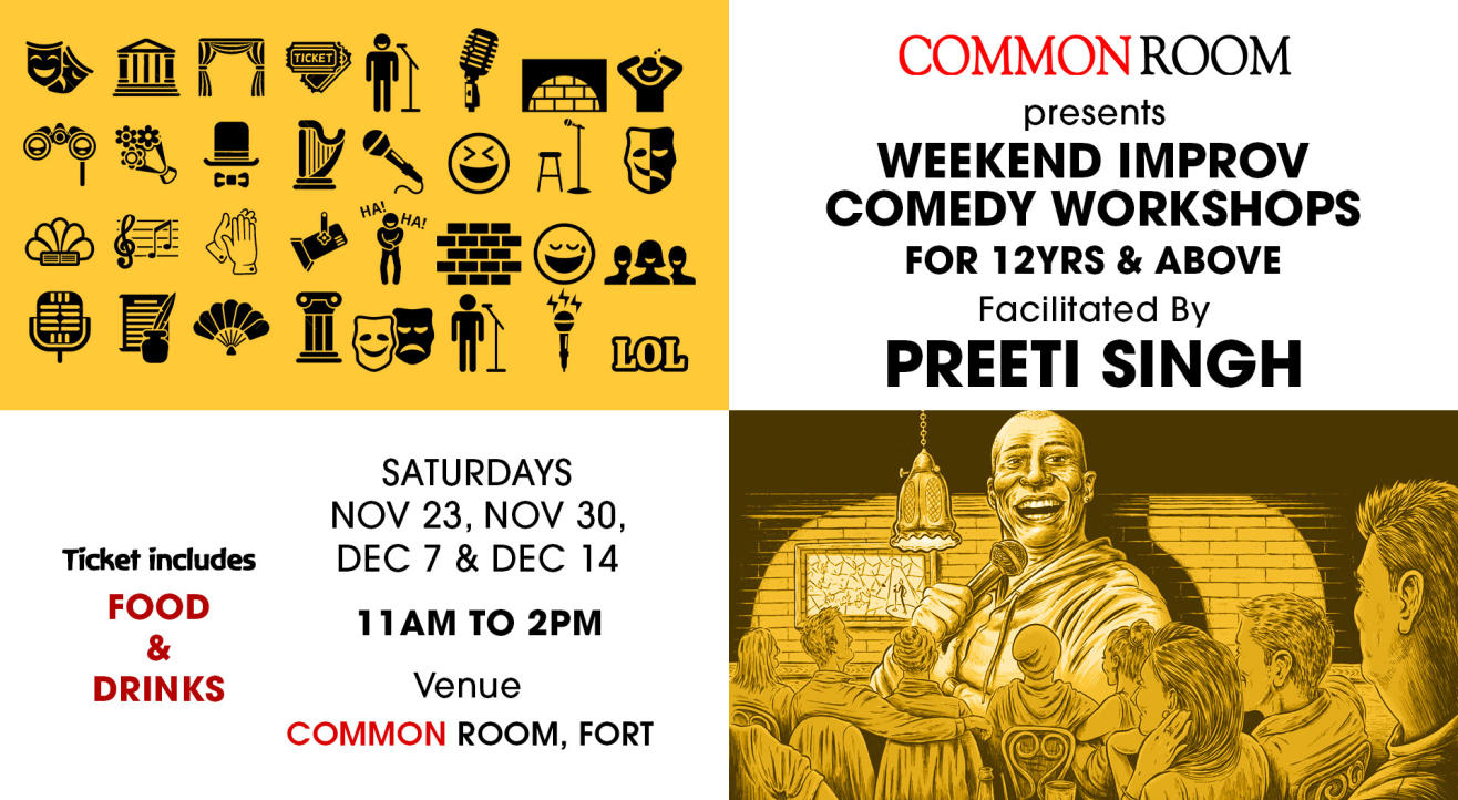 Improv Comedy Workshop at Common Room, Fort
