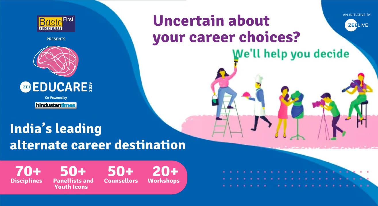Zee Educare - India's Leading Alternate Career Festival