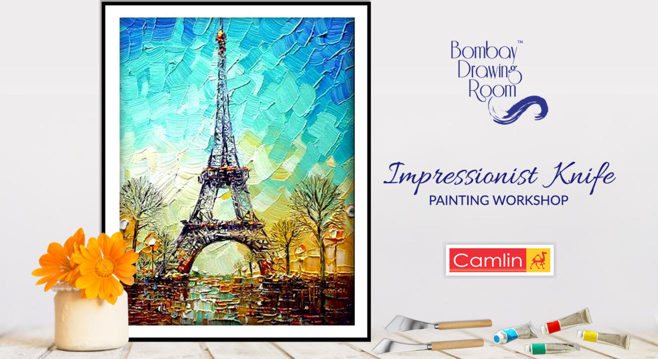 Impressionist Knife Painting Workshop by Bombay Drawing Room