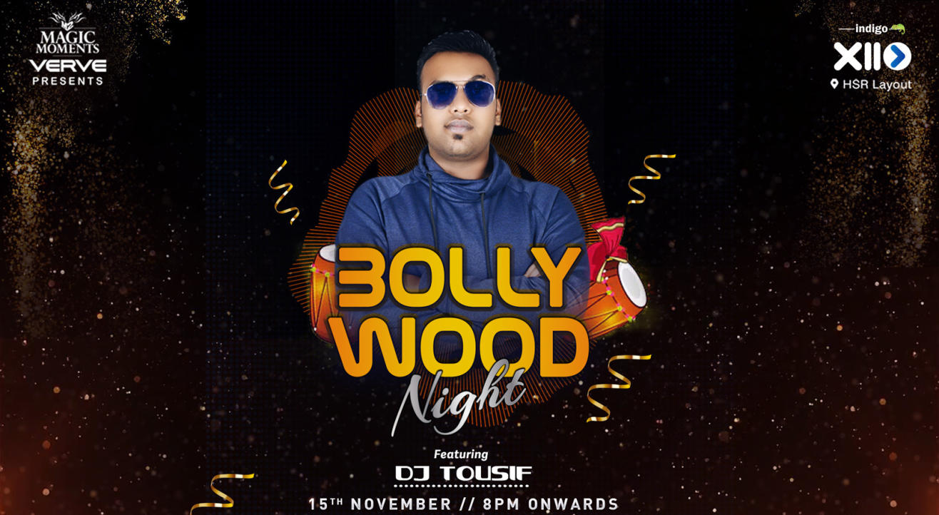 Friday Bollywood Night ft. dj Tousif