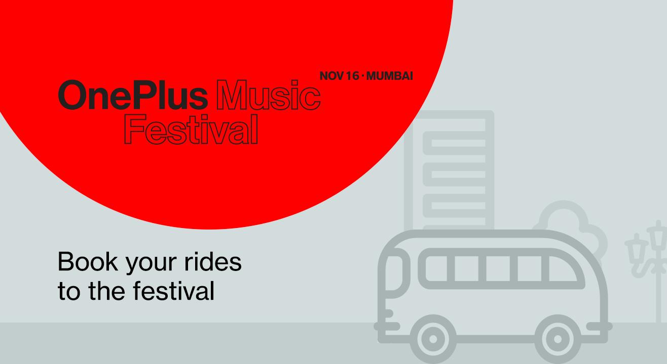 Shuttles for OnePlus Music Festival, 2019